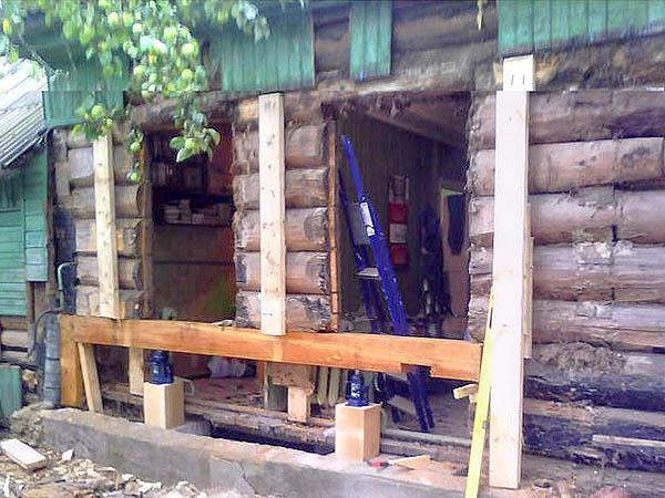 Какой домкрат нужен для поднятия деревянного дома? - Все о ...